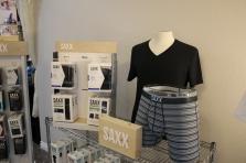 We carry SAXX underwear and undershirts, sizes XS-XXL